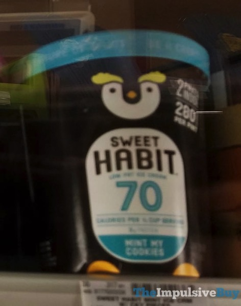 Sweet Habit Mint My Cookies Low Fat Ice Cream