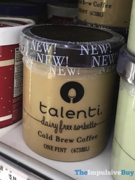 Talenti Cold Brew Coffee Dairy Free Sorbetto