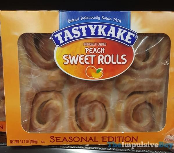 Tastykake Seasonal Edition Peach Sweet Rolls