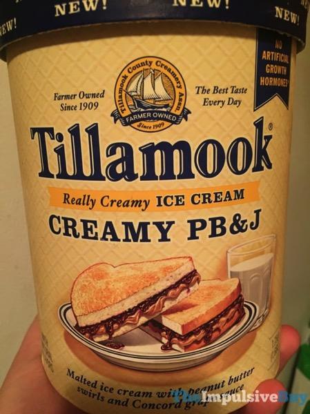 Tillamook Creamy PB J Ice Cream