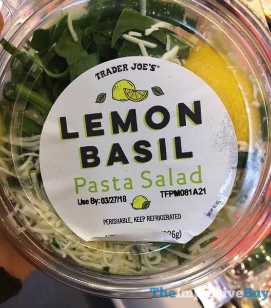 Trader Joe s Lemon Basil Pasta Salad