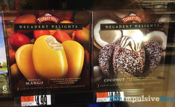 Turkey Hill Decadent Delights Bars  Tropical Mango and Coconut