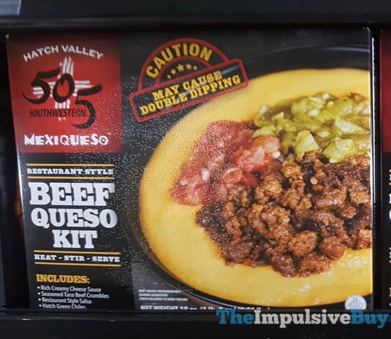 505 Southwestern Mexiqueso Beef Queso Kit