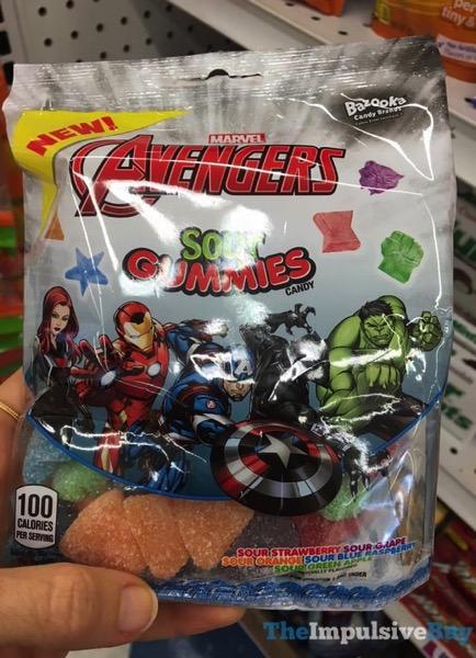 Bazooka Marvel Avengers Sour Gummies