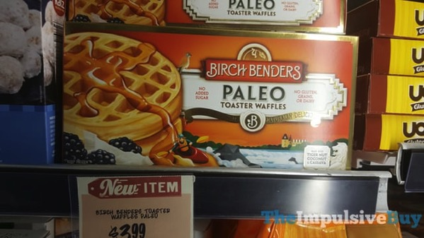 Birch Benders Paleo Toaster Waffles