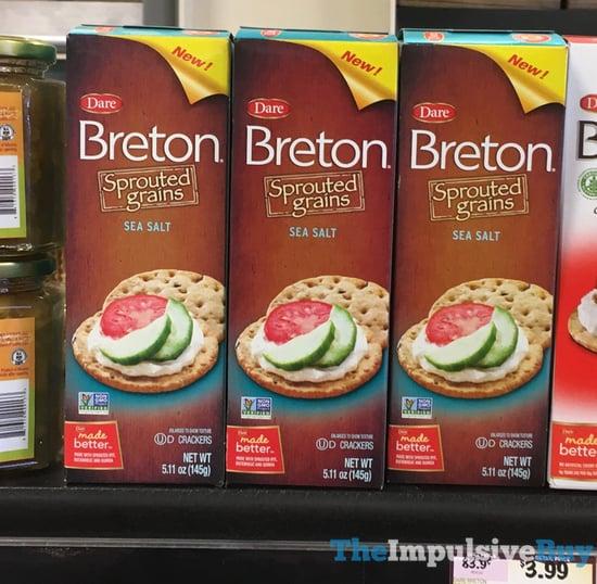 Dare Breton Sprouted Grains Sea Salt Crackers
