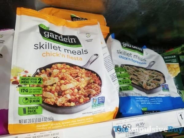 Gardein Skillet Meals  Chick n Fiesta and Chick n Florentino