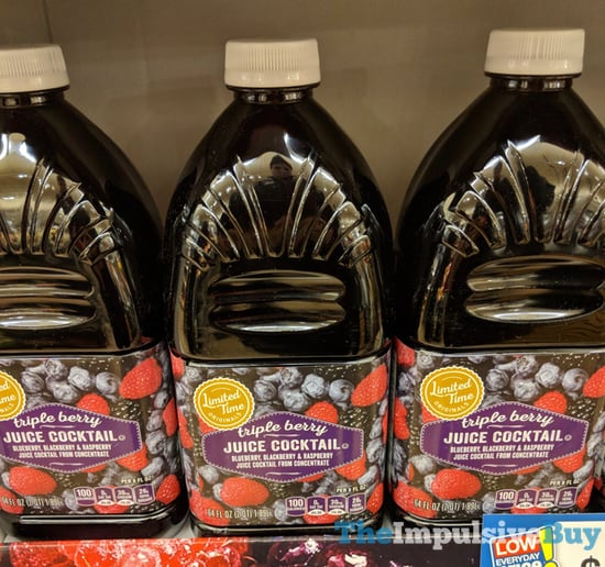 Giant Limited Time Originals Triple Berry Juice Cocktails