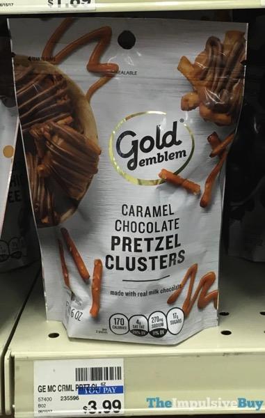 Gold Emblem Caramel Chocolate Pretzel Clusters