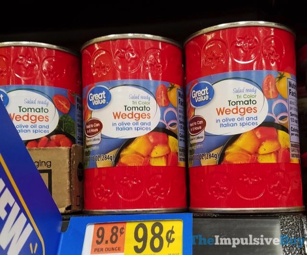 Great Value Tri Color Tomato Wedges