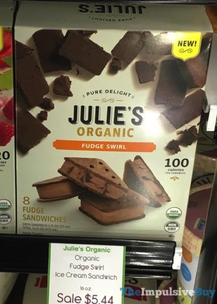 Julie s Organic Fudge Swirl Fudge Sandwiches