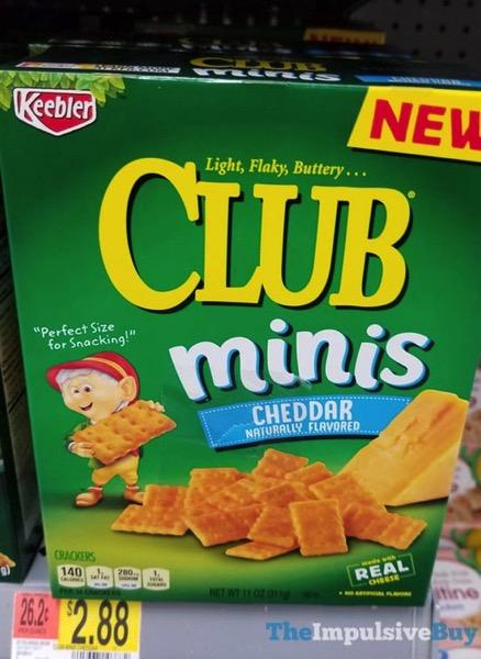 Keebler Club Minis Cheddar
