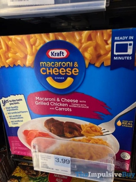 Kraft Macaroni  Cheese with Grilled Chicken and Carrots