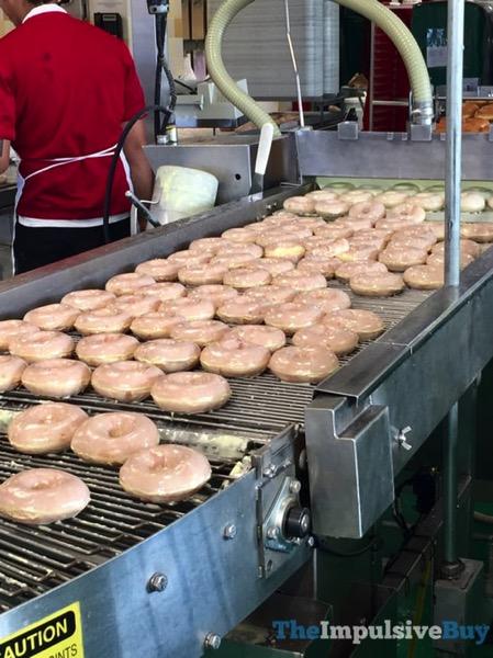 Krispy Kreme Lemon Glaze Doughnut