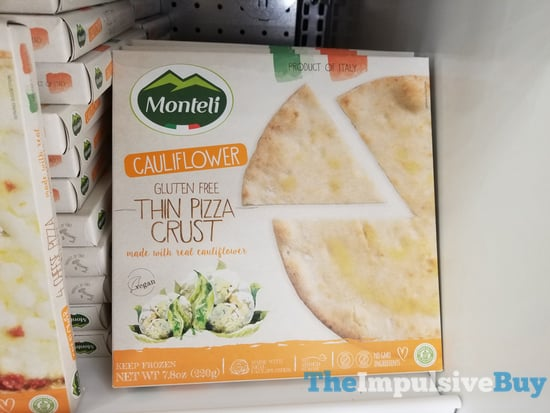 Monteli Cauliflower Gluten Free Thin Pizza Crust