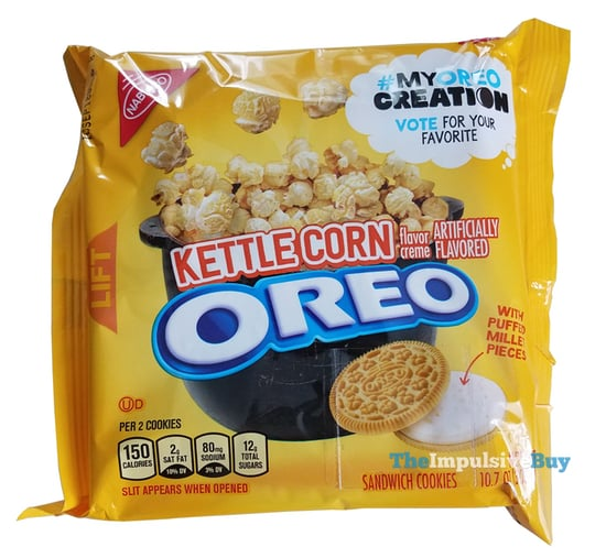 My Oreo Creation Kettle Corn Oreo Cookies