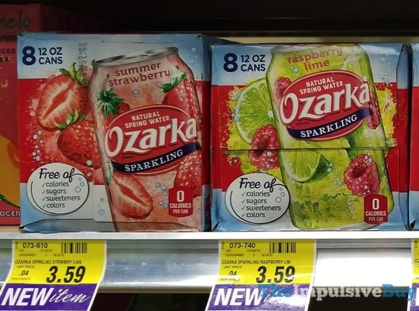 Ozarka Summer Strawberry and Raspberry Lime Sparking Water