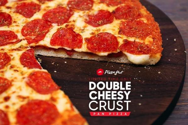 PH Double Cheesy Crust Pan Pizza