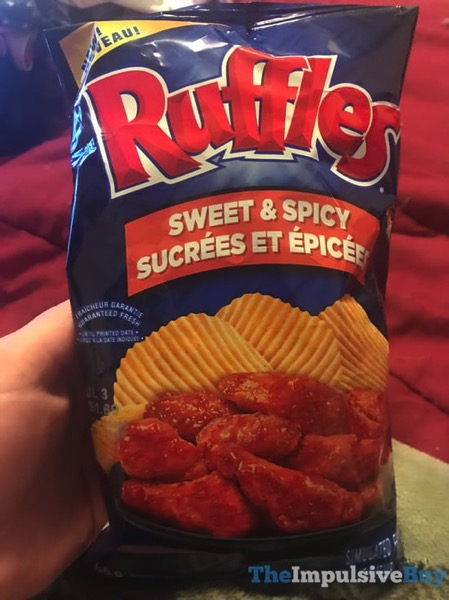 Ruffles Sweet  Spicy Potato Chips