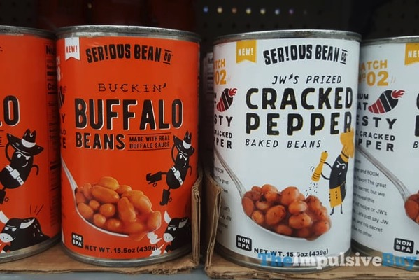 Serious Bean Co Buckin Buffalo Beans and JW s Prized Cracked Pepper Baked Beans
