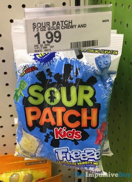 Sour Patch Kids Freeze Lemonade Variety Mix