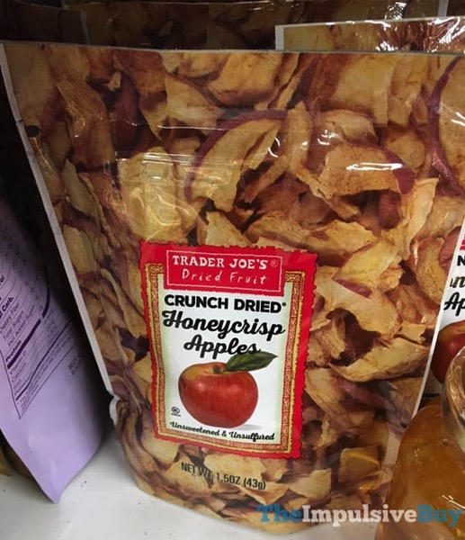 Trader Joe s Dried Fruit Crunch Dried Honeycrisp Apples