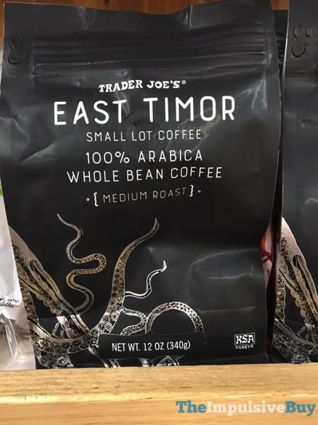Trader Joe s East Timor Small Lot Coffee 100 Arabica Whole Bean Coffee