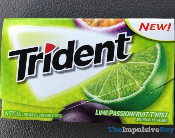 Trident Lime Passionfruit Twist Gum