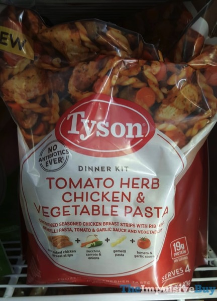 Tyson Tomato Herb Chicken  Vegetable Pasta Dinner Kit