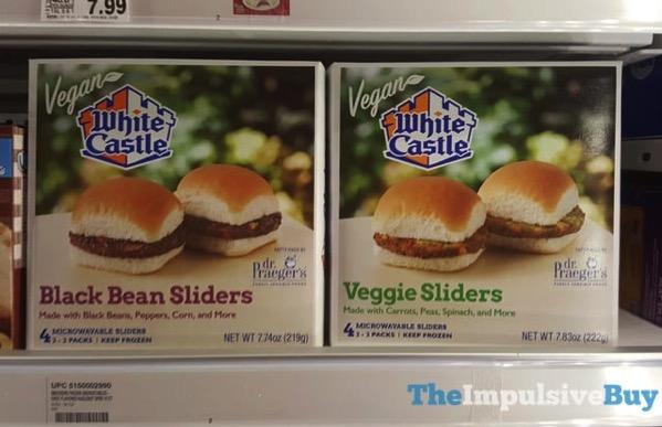 White Castle Vegan Sliders  Black Bean and Veggie