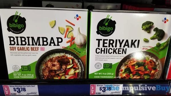 Bibigo Bibimbap Soy Garlic Beef and Teriyaki Chicken