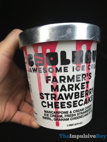 Coolhaus Farmer s Market Strawberry Cheesecake Ice Cream