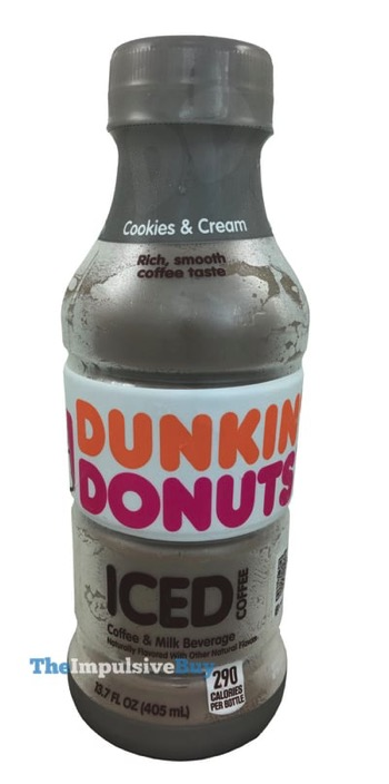 Dunkin Donuts Cookies  Cream Bottled Iced Coffee