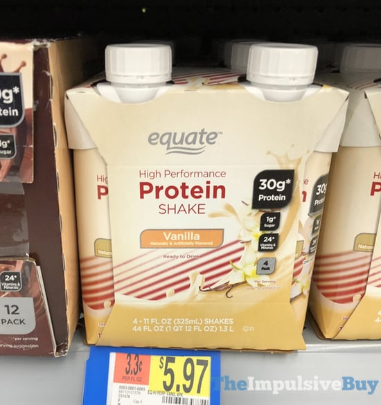 Equate Vanilla High Performace Protein Shake