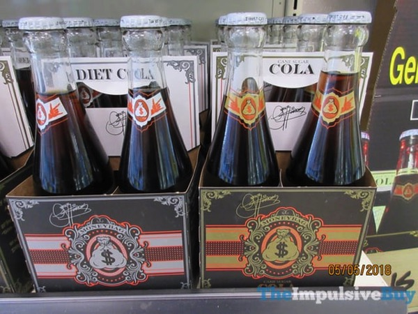 Gene Simmons Moneybag Diet Cola and Cola