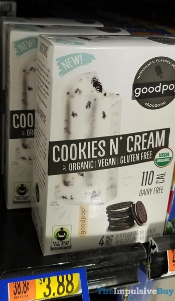 GoodPop Cookies N Cream Bars