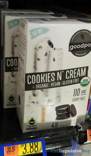 GoodPop Cookies N Cream Bars