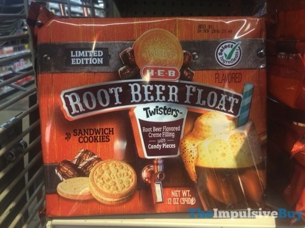 H E B Limited Edition Root Beer Float Twisters