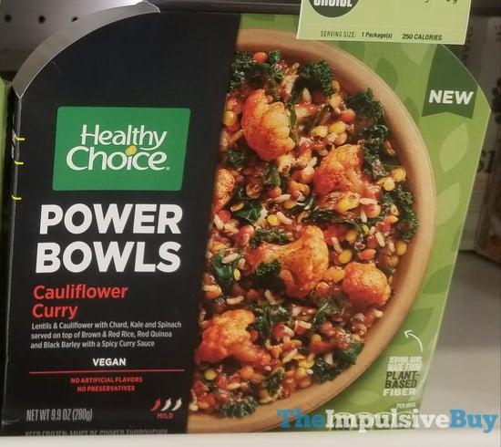 Healthy Choice Power Bowls Cauliflower Curry