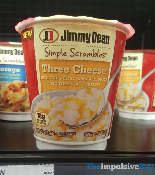 Jimmy Dean Simple Scrambles Three Cheese
