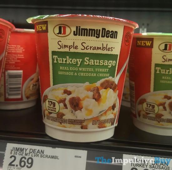 Jimmy Dean Simple Scrambles Turkey Sausage