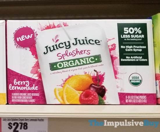 Juicy Juice Splashers Organic Berry Lemonade