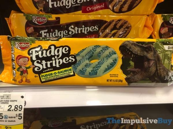 Keebler Fudge o Saurus Fudge Stripes Cookies