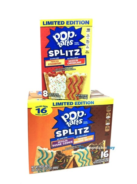 Kellogg s Limited Edition Pop Tarts Splitz  2018