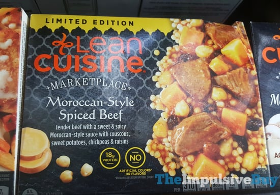 Lean Cuisine Marketplace Limited Edition Moroccan Style Spiced Beef