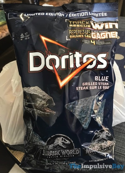 Limited Edition Grilled Steak Doritos Blue