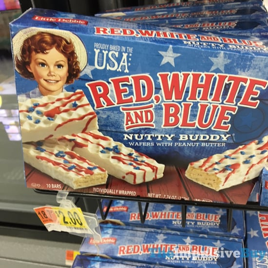 Little Debbie Red White and Blue Nutty Buddy