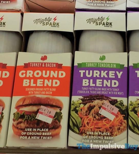Mighty Spark Turkey  Bacon Ground Blend and Turkey Tenderloin Turkey Blend