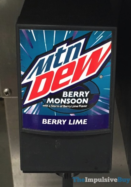 Mtn Dew Berry Monsoon