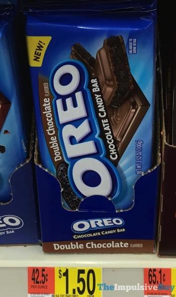 Oreo Double Chocolate Candy Bar
